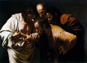 Doubting Thomas, Caravaggio, 1571-1610